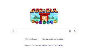 Google ra mắt doodle đặc sắc tôn vinh Olympic Tokyo 2020