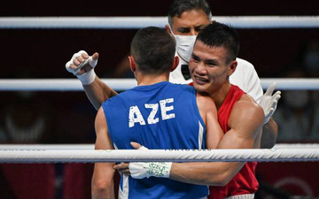 Olympic Tokyo ngày 24/7: Võ sĩ Nguyễn Văn Đương (boxing) giành chiến thắng đầy bất ngờ