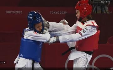 """Trương Thị Kim Tuyền """"lấy nhu thắng cương"""" đả bại đại diện Canada trận ra quân Taekwondo Olympic Tokyo 2020"""