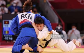 Nguyễn Thị Thanh Thủy thua chóng vánh nhà cựu vô địch châu Âu tại hạng cân 52kg Judo nữ Olympic Tokyo 2020