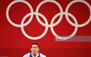 Thạch Kim Tuấn dừng bước tại hạng cân 61kg cử tạ nam Olympic Tokyo 2020