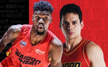 Finals MVP VBA 2020 trở lại Saigon Heat, thay thế vị trí của Nam vương Thái Lan