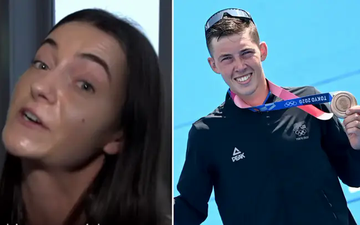 Bạn gái cũ tiếc nuối sau khi thấy VĐV New Zealand giành HCĐ Olympic