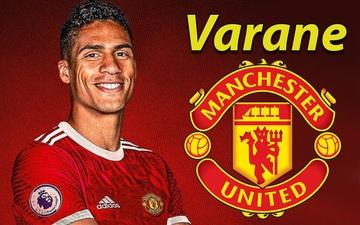 Varane thể hiện sự cầu tiến và chuyên nghiệp với MU