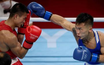 Kết quả Olympic Boxing ngày 28/7: Nguyễn Văn Đương để thua trước đối thủ người Mông Cổ