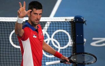 Đánh bại niềm hy vọng cuối cùng của chủ nhà Nhật Bản, Djokovic tiến vào bán kết Olympic