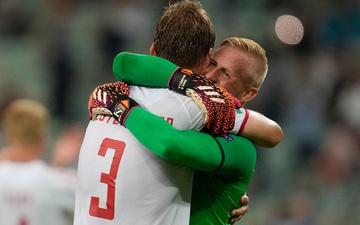 Đánh bại CH Séc, Đan Mạch lọt vào bán kết Euro 2020