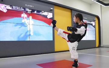 Võ đài Taekwondo thực tế ảo: Bước tiến mới của Taekwondo Hàn Quốc