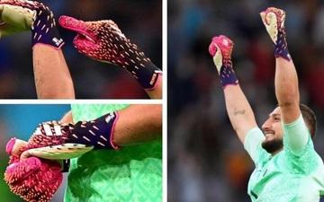 Choáng với chiếc găng tay có hơn 280 chiếc gai của thủ môn tuyển Ý tại Euro 2020