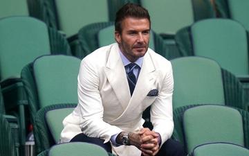 David Beckham bảnh bao đến dự khán Wimbledon 2021