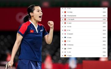Hot girl Nguyễn Thùy Linh cải thiện vị trí trên BXH cầu lông thế giới sau Olympic Tokyo