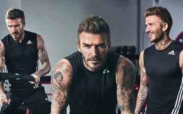 David Beckham xuất hiện cực chất ở tuổi 46: Lâu lắm rồi tôi mới có cơ thể chuẩn như lúc này