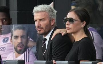 Phản ứng bất ngờ của David Beckham khi đội nhà ghi bàn ở phút bù giờ