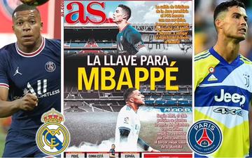 Chuyển nhượng 24/8: Ronaldo là tác nhân chính giúp Real sở hữu Mbappe?