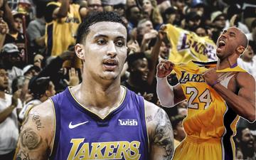 """""""Gửi đến đại gia đình Los Angeles Lakers của tôi"""", từ Kyle Kuzma"""