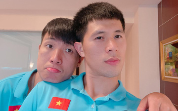 Tình cảm như hội tuyển thủ Việt Nam: Trước giờ bay vẫn cổ vũ các cầu thủ đang chấn thương phải ở nhà