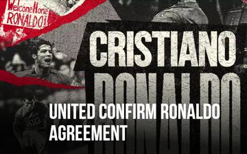 Chuyển nhượng 27/8: Ronaldo chính thức cập bến MU