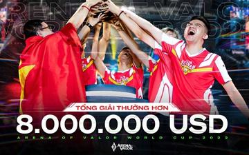 Liên Quân Mobile kết hợp cùng Honor of King công bố giải Esports trị giá hơn 8 triệu USD