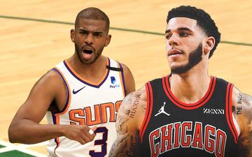 """Tổng hợp chuyển nhượng NBA 2021: Chris Paul gia hạn hợp đồng """"khủng"""", Lonzo Ball cập bến Chicago Bulls"""