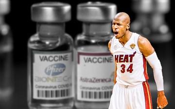 Ray Allen công khai lên tiếng chỉ trích những người chống vaccine Covid-19