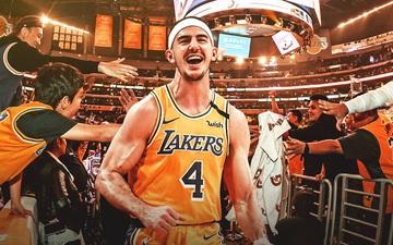 """Alex Caruso: """"Tôi sẽ không bao giờ quên được quãng thời gian ở Los Angeles Lakers"""""""