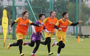 Tuyển nữ Việt Nam mong muốn sang UAE tập huấn sớm để chuẩn bị cho giấc mơ World Cup 2023