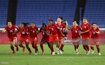 Đá hỏng liên tiếp 3 quả luân lưu, Canada vẫn vô địch bóng đá nữ Olympic 2020