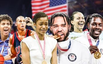 Điểm mặt những gia đình hệ huy chương vàng Olympic của làng bóng rổ Mỹ
