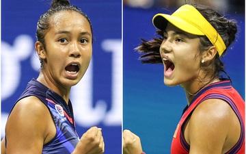 """Hai nữ tay vợt tuổi teen """"làm loạn"""" chung kết US Open, tạo nên cột mốc chưa từng có trong lịch sử"""