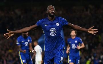 Lukaku ghi bàn thứ 14 trong 14 trận giúp Chelsea khởi đầu thắng lợi tại Champions League 2021/22