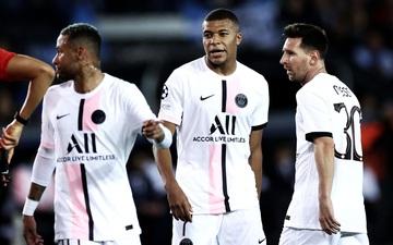 Tam tấu Messi - Neymar - Mbappe bất lực nhìn PSG mất điểm