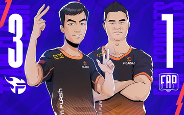 Kết quả ĐTDV mùa Đông 2021 ngày 16/9: Team Flash vươn lên dẫn đầu BXH