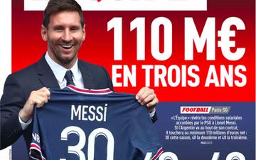 Báo Pháp công bố chi tiết mức lương khổng lồ của Messi tại PSG: 1 phần lương được trả bằng đồng tiền lạ hoắc