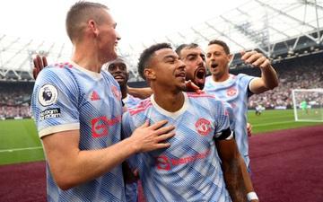 Ảnh cận cảnh: Lingard lập siêu phẩm cứa lòng vào lưới đội bóng cũ giúp MU thắng trận