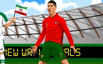 Dân mạng nổ tưng bừng trong ngày Ronaldo lập siêu kỷ lục bóng đá thế giới