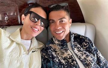 Bạn gái Ronaldo mang bộ trang sức có giá trị cực khủng đi dự sự kiện