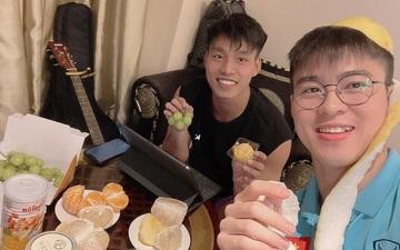 Văn Thanh đàn cho Duy Mạnh hát, Xuân Trường tấu hài trong đêm trung thu