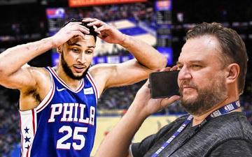 """NBA Media Day 2021: Philadelphia 76ers tuyên bố """"bịt"""" mọi đường thoát thân của Ben Simmons"""
