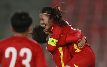 Giành chiến thắng 7-0, tuyển nữ Việt Nam chính thức vào VCK Asian Cup 2022