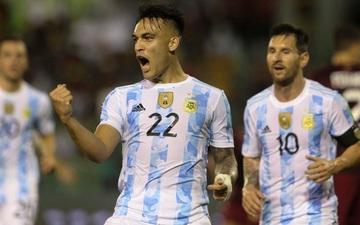 Lautaro Martinez tỏa sáng, Argentina thắng dễ Venezuela