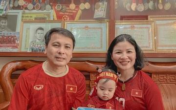 Mẹ Quang Hải nghẹn ngào không nói lên lời khi con trai ghi bàn cho tuyển Việt Nam