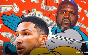 """Nhất quyết nghỉ thi đấu NBA 2021-22, Ben Simmons tiếp tục bị Shaquille O'Neal """"chỉ mặt gọi tên"""""""