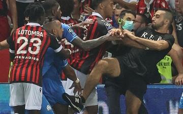 Nice bị trừ điểm vì vụ xô xát với Marseille