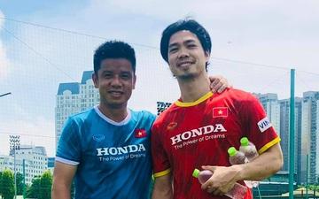 Đồng đội nghỉ ngơi, Công Phượng vùi mình tập luyện để sớm trở lại tuyển Việt Nam