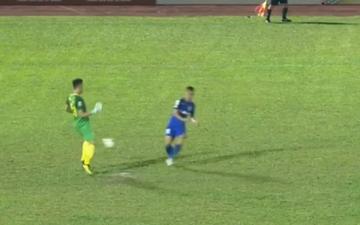 Thủ môn Tiến Dũng mắc hai sai lầm nghiêm trọng, Thanh Hóa thua đau ở trận chung kết Cúp Quốc gia