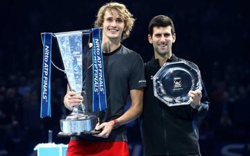 Hạ cả Federer và Djokovic, tài năng trẻ người Đức làm điều không tưởng để đăng quang ATP Finals