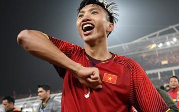 Đoàn Văn Hậu được vinh danh Cầu thủ trẻ xuất sắc nhất năm 2018