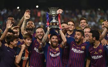 Highlights Barcelona đăng quang Siêu cúp Tây Ban Nha