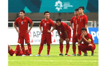 Thua trên chấm luân lưu, Olympic Việt Nam lỡ thời cơ giành huy chương ASIAD