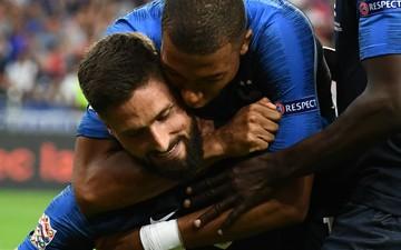 Giroud qua mặt Zidane, giúp Pháp vượt ải Hà Lan trên sân nhà